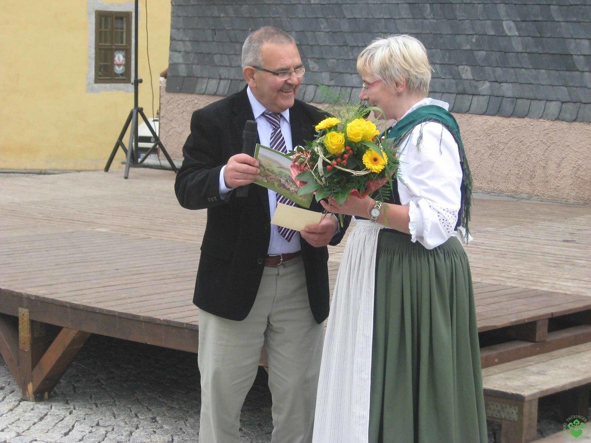 Bürgermeister Machold sagt Danke