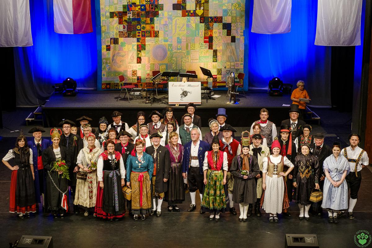 Thüriade- Gala der Thüringer Trachten 20. Mai 2017