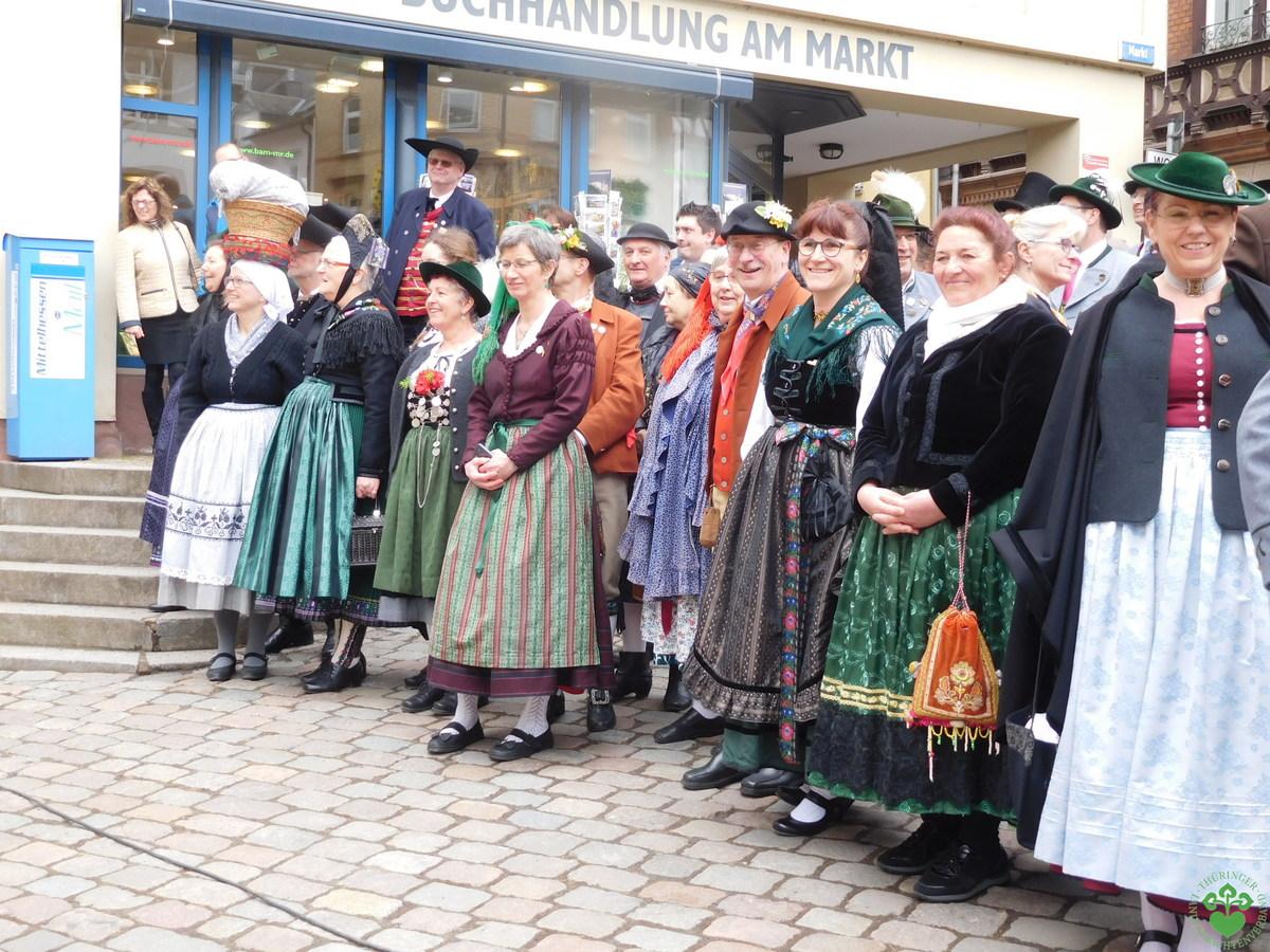 Deutscher Trachtentag in Marburg