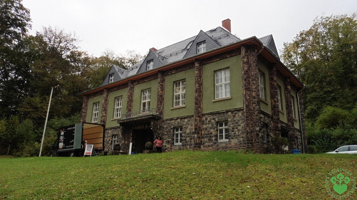 "Am ""Steinsburgmuseum"" in Römhild"